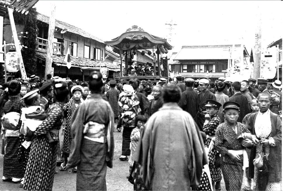 篠ノ井祗園祭 内堀の百年 心意気の軌跡